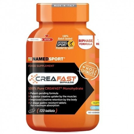 Creatina Named Sport, Creafast, 120 cpr.