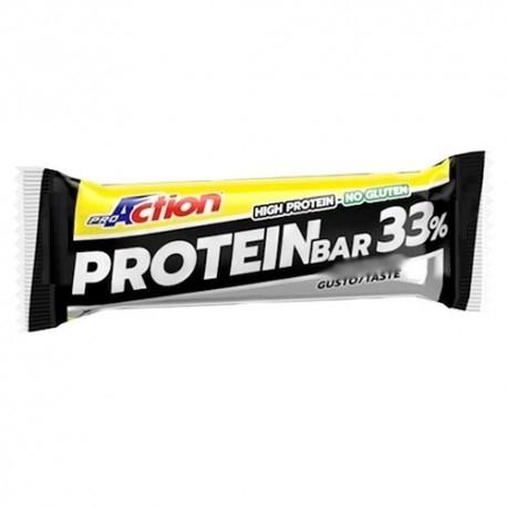 Barrette proteiche Proaction, Protein Bar 33%, 1pz da 50g.