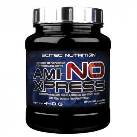 Pre Workout Scitec Nutrition, Ami-No Xpress, 440 g.