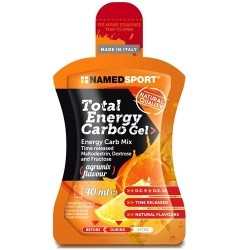 Mix Carboidrati Named Sport, Total Energy Carbo Gel, 24 pz. da 40 ml
