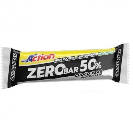 Barrette proteiche Proaction, Zero Bar, 20 pz da 60g.