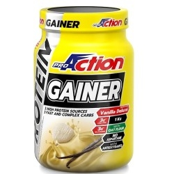 Gainers Proaction, Gainer, 1000 g.