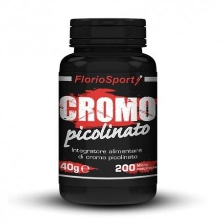 FlorioSport, Cromo Picolinato, 200cpr.