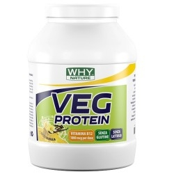Proteine Vegetali WHY Nature, Veg Protein, 750 g