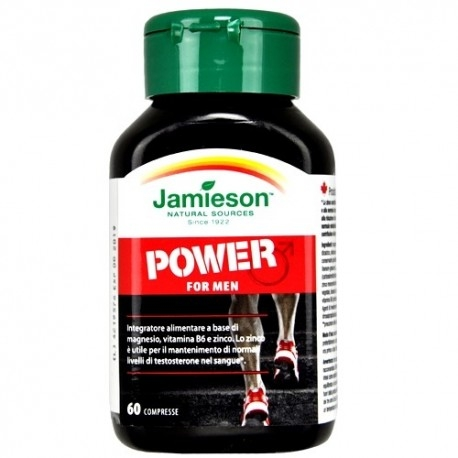 Tonici - Energizzanti Jamieson, Power for Men, 60 cpr.