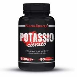 Potassio FlorioSport, Potassio Citrato, 90 cpr.