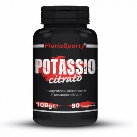 FlorioSport, Potassio Citrato, 90 cpr.
