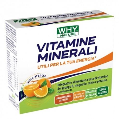 Multivitaminici - Multiminerali WHY Nature, Vitamine Minerali, 10 buste