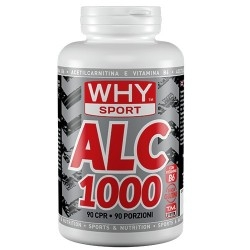 Acetil L-Carnitina WHY Sport, ALC 1000, 90 cpr
