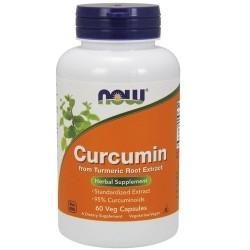 Curcuma Now Foods, Curcumin, 60 cps
