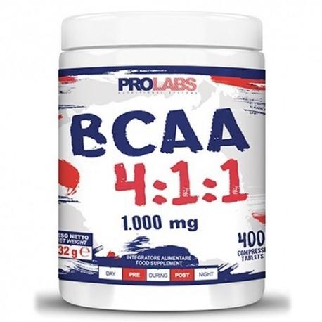 Aminoacidi Ramificati (Bcaa) Prolabs, BCAA 4:1:1, 400cpr.