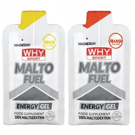 Carbogel WHY Sport, Malto Fuel, gel 33 g.