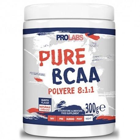 Scadenza Ravvicinata Prolabs, Pure Bcaa 8:1:1, 300 g. (Sc.09/2020)