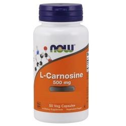Carnosina Now Foods, L-Carnosine, 50 cps. (Sc.03/2020)