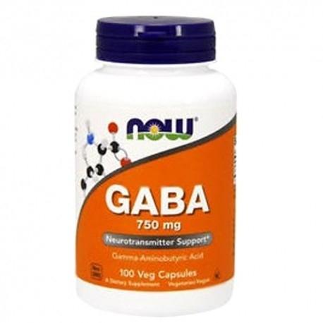 Aminoacidi Now Foods, Gaba, 100 cps.