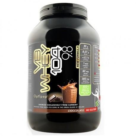 Proteine del Siero del Latte (whey) Net Integratori, VB Whey 104 9.8, 900 g.