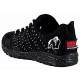 Scarpe Gorilla Wear, Brooklyn Knitted Sneakers Nero/Bianco