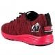Scarpe Gorilla Wear, Brooklyn Knitted Sneakers Rosso/Nero