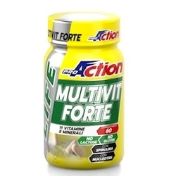 Multivitaminici - Multiminerali Proaction, Multivit Forte, 60 cpr.