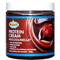 Creme alimentari Ultimate Italia, Protein Cream Nocciolinella, 250 g.