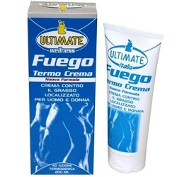 Anti adiposità Ultimate Italia, Fuego Thermo Crema, 200 ml