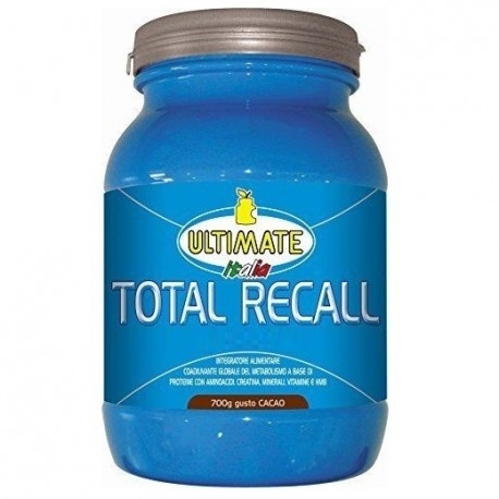 Pre Workout Ultimate Italia, Total Recall, 700 g