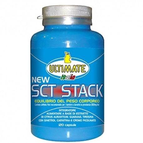 Coadiuvanti diete dimagranti Ultimate Italia, SCT Stack, 120 cps.