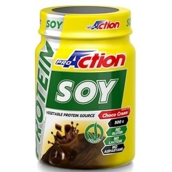 Proteine di Soia Proaction, Soy Protein, 500 g.