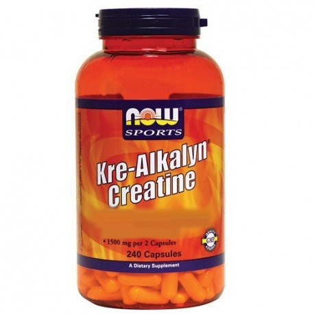 Creatina Now Foods, Kre-Alkalyn Creatine, 240cps.