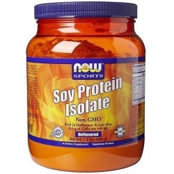 Proteine di Soia Now Foods, Soy Protein Isolate, 544g