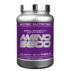 Pool di Aminoacidi Scitec Nutrition, Amino 5600, 1000cpr.