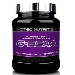 Aminoacidi Ramificati (Bcaa) Scitec Nutrition, G-Bcaa, 250 cps.