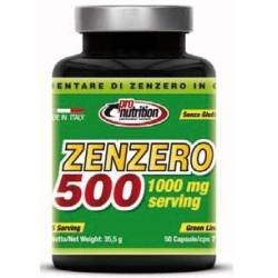 Funzionalità articolare Pro Nutrition, Zenzero 500, 50 cps.