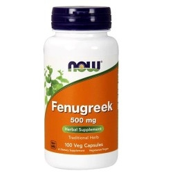 Fieno greco Now Foods, Fenugreek, 100 cps.