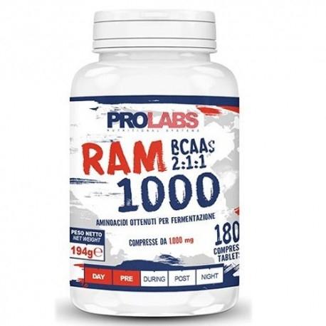 Aminoacidi Ramificati (Bcaa) Prolabs, Ram 1000, 180Cpr.