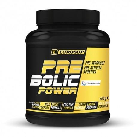 Pre Workout Eurosup, Prebolic Power +, 640g