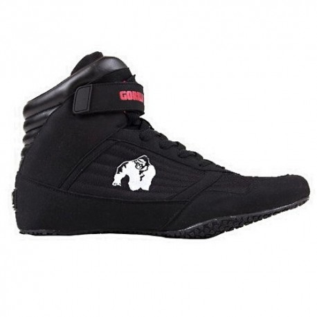 Scarpe Gorilla Wear, High Tops, Sneakers Nera Alta