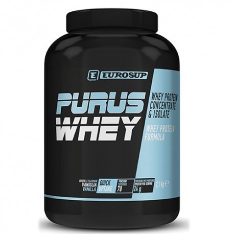 Proteine del Siero del Latte (whey) Eurosup, Purus Whey, 2100 g.
