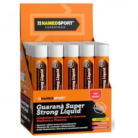 Guarana Named Sport, Guarana Super Strong Liquid, 20 fiale