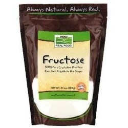 Fruttosio Now Foods, Fructose, 680g.