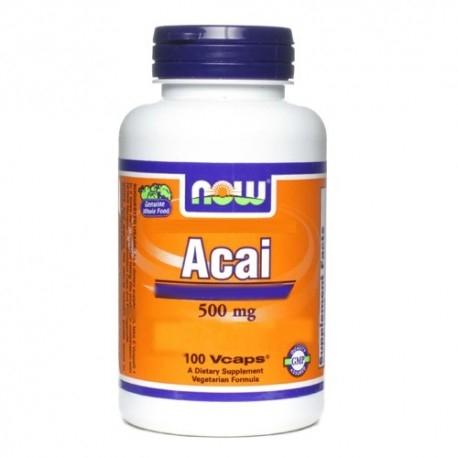 Acai Now Foods, Acai, 100cps.