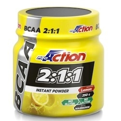 Offerte Limitate Proaction, Bcaa 2:1:1 Instant Powder, 250 g.