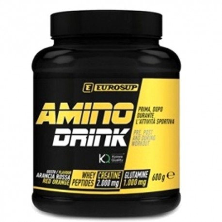 Pre Workout Eurosup, Amino Drink, 600gr.