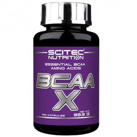 Aminoacidi Ramificati (Bcaa) Scitec Nutrition, Bcaa X, 120 cps.