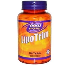Colina e Inositolo Now Foods, Lipo Trim, 120 cpr. (Sc.10/2019)