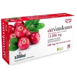 Mirtillo rosso (Cranberry) Nature Essential, Arandano Rojo, Blister da 30 cps. (Sc.04/2020)