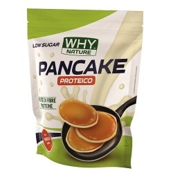 Pancake WHY Nature, Pancake Proteico Low Sugar, 1000 g.