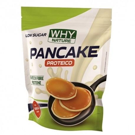 Pancake WHY Nature, Pancake Proteico Low Sugar, 1000 g.