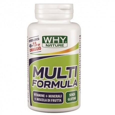 Vitamine e Minerali WHY Nature, Multi Formula, 30 cpr.