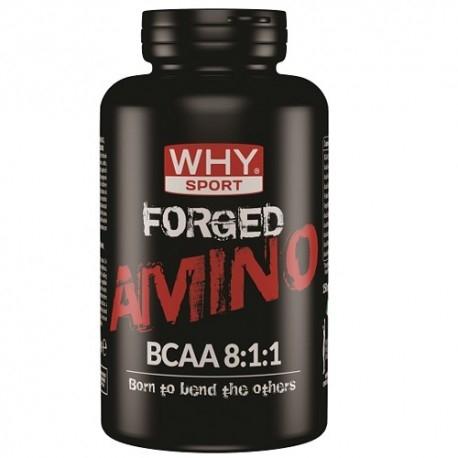 Aminoacidi Ramificati (Bcaa) WHY Sport, Forged Amino Bcaa 8:1:1, 150 cpr.
